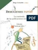 Demoliendo Papers (Diego Golombek)