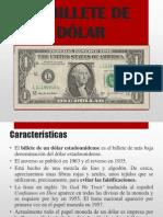 Billete de $ 1 Dolar