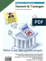 Tinjauan Ekonomi dan Keuangan edisi Januari 2013