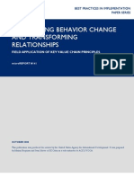 mR141 - Facilitating Behavior Change and Transforming Relationships