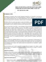 Documento Flisol 2009 Bucaramanga