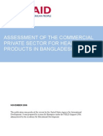 FIELD Report 01 - Assessment of the Commercial Private Sector for Healthcare Products in Bangladesh