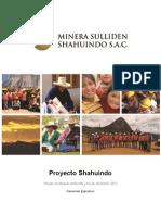 Minera Sulliden Shahuindo S.A.C. - Proyecto Sahuindo - Resumen Ejecutivo (Español)