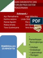 Pemeriksaan Diagnostik Dan Laboratorium Pada Sistem Pencernaan