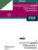 Educacion y Ciudadania Cast