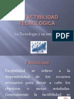 La Tecnologia y Su Entorno.