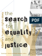 The Search for Justice and Equality