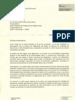 3ª respuesta del Ministerio - Ana Mato