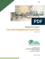 Carvolth Neighbourhood Plan