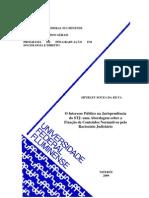 Dissertação Mestrado - 2009 - O interesse público na jurisprudência do STJ