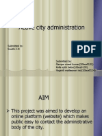 Active City Administration PPT