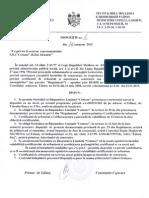 Dispoziţiile primarului nr. 1-95 a. 2013