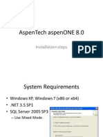 AspenTech AspenONE 8.0 Install