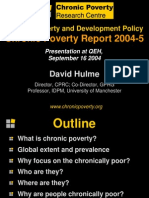 Measuring Chronic Poverty, David Hulme (1)