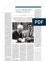 Tanta Memoria Permanece - Anibal Quijano
