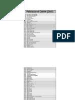 05. Listado de Peliculas en DivX