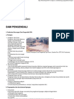 (Dam Pengendali _(Check Dam_) « BebasBanjir2015)