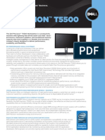 Dell Precision T5500 Brochure