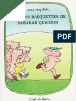 Dans Les Basket de Babakar Quichon