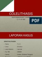 COLELITHIASIS-PPT
