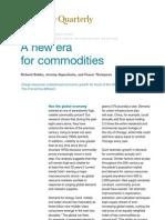 Soaring Commodity Prices Mckinsey Study