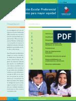 Ley de Subvención Escolar Preferencial