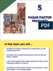 5. FAKTOR-FAKTOR PRODUKSI