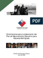 Orientaciones Elaboracion Plan Multigrado