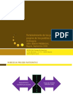 Fases de un Proceso Participativo. El Plan de Acción integral (PAI)