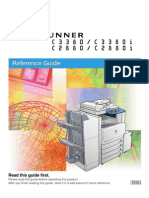 iR-C3380 Reference Manual
