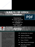 Basics of Stock Market