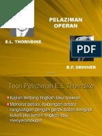 Behavioris (Thorndike & Skinner)