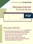Rancangan Faktorial 2 -umum
