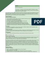 BASICS of Finance, Modeling Valuation