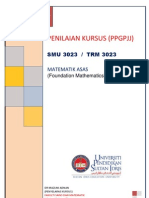 PENILAIAN KURSUS TRM 3023
