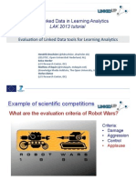 Evaluation of Linked Data Tools for Learning Analytics