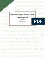 Jorge Luis Borges y Ernesto Sabato - Conversaciones