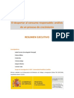 E-Sost 2011. Consumo Responsable. Resumen Ejecutivo