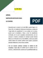 REFLEXIONES PARA UN TRAIDOR- POR EL FISCAL GONZÁLEZ