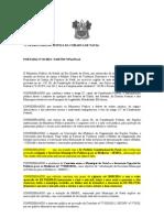 PORTARIA E RECOMENDAÇÃO EXTINÇÃO SECRETARIA MUNICIPAL DA MULHER