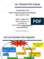 Integrated Cost Schedule Risk Analysis3885