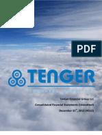 TFG 2012 Financial Highlights 4Q (Unaudited)
