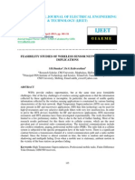 Feasibility Studies of Wireless Sensor Network and Its Implications