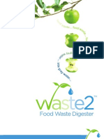 Waste 2 Water Food Waste Digester Brochure