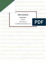 Allen Ginsberg - Entrevistas