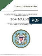 Bow Mariner Report
