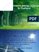 Alternative Resources in Thailand