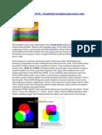 Perbedaan RGB Dan CMYK
