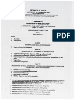 Citizenship Act of Zimbabwe (2011)