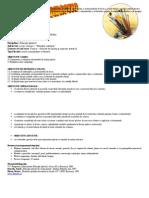 Proiect Educatie Plastica - clasa I